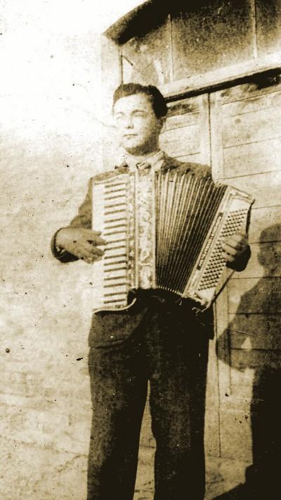 Dante Sebastianelli nel 1940 circa