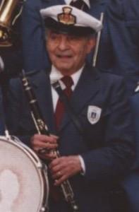 Galletto con la Banda di Castelleone nel 1993