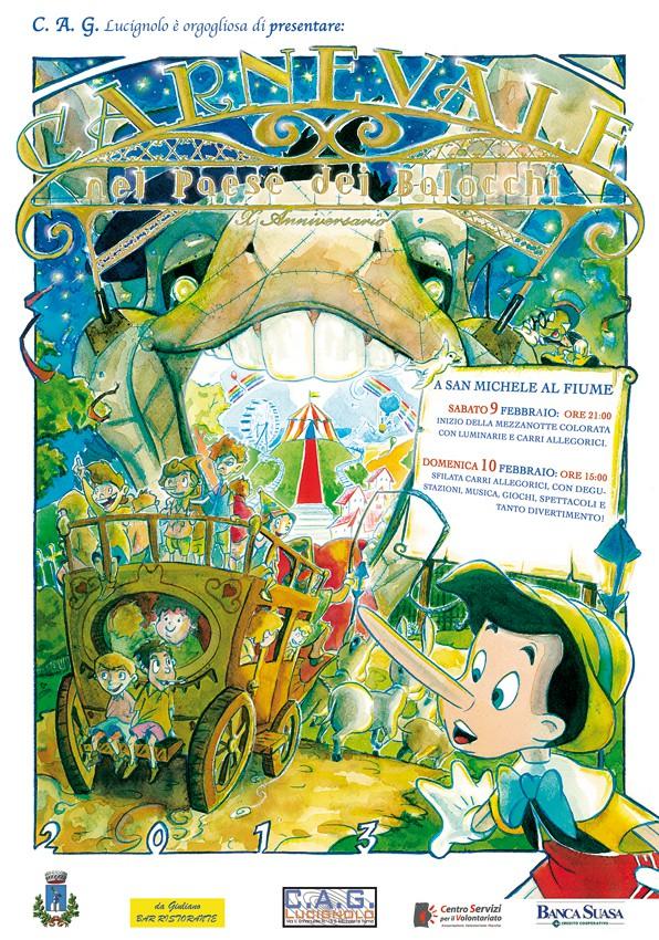 La locandina del Carnevale di quest'anno (2013)