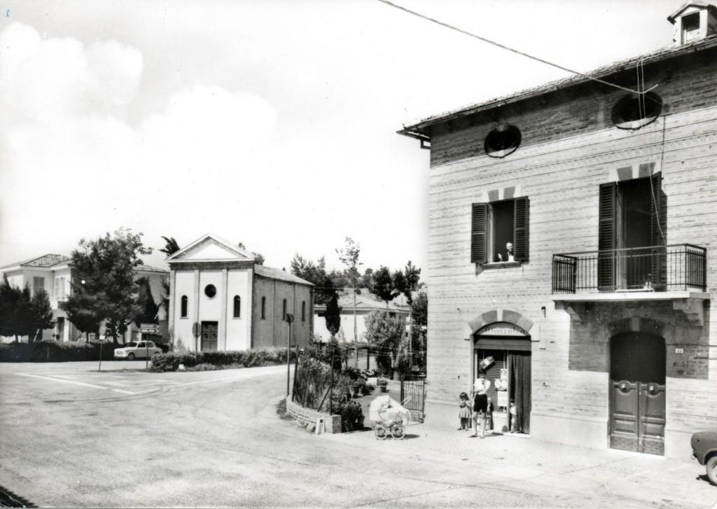 San Filippo sul Cesano - cartolina anni '60