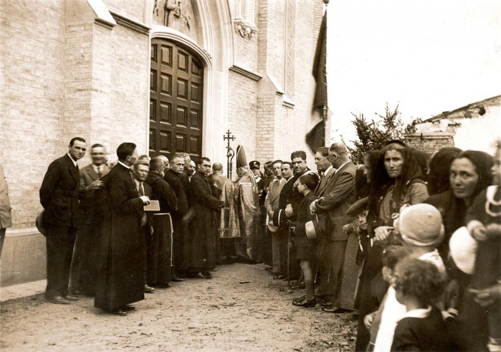8 giugno 1933 - Benedizione della nuova chiesa di San Michele
