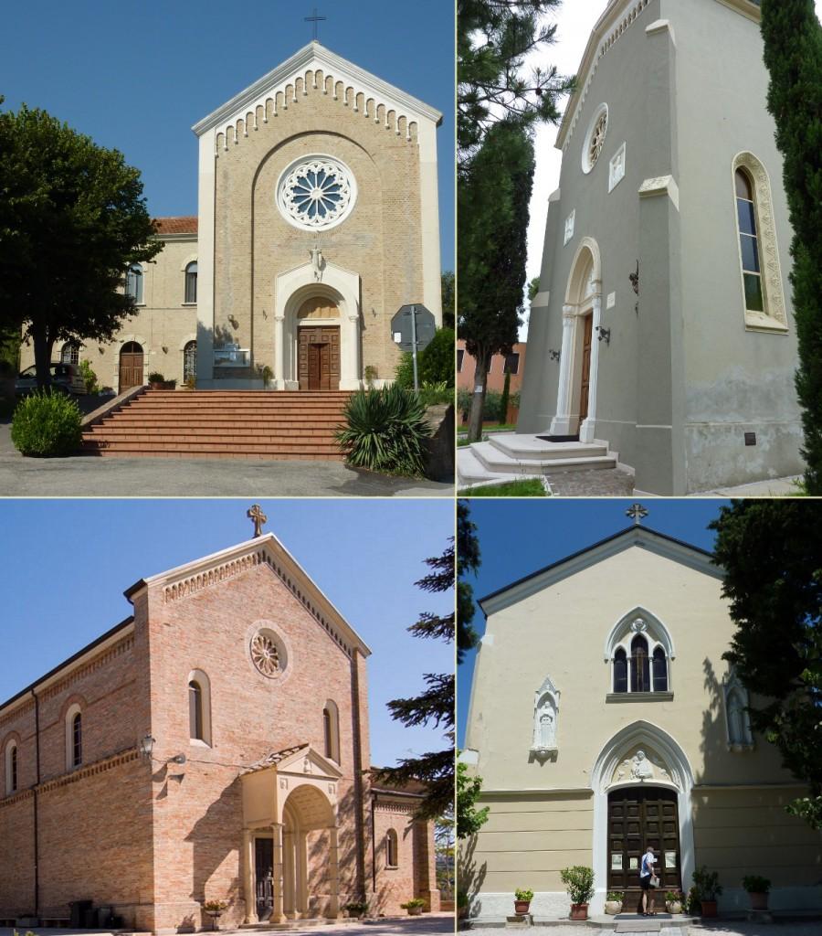Le chiese gemelle alla nostra, in diocesi di Fano