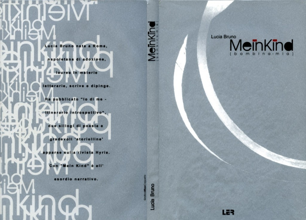 La copertina di Mein Kind, di Lucia Bruno