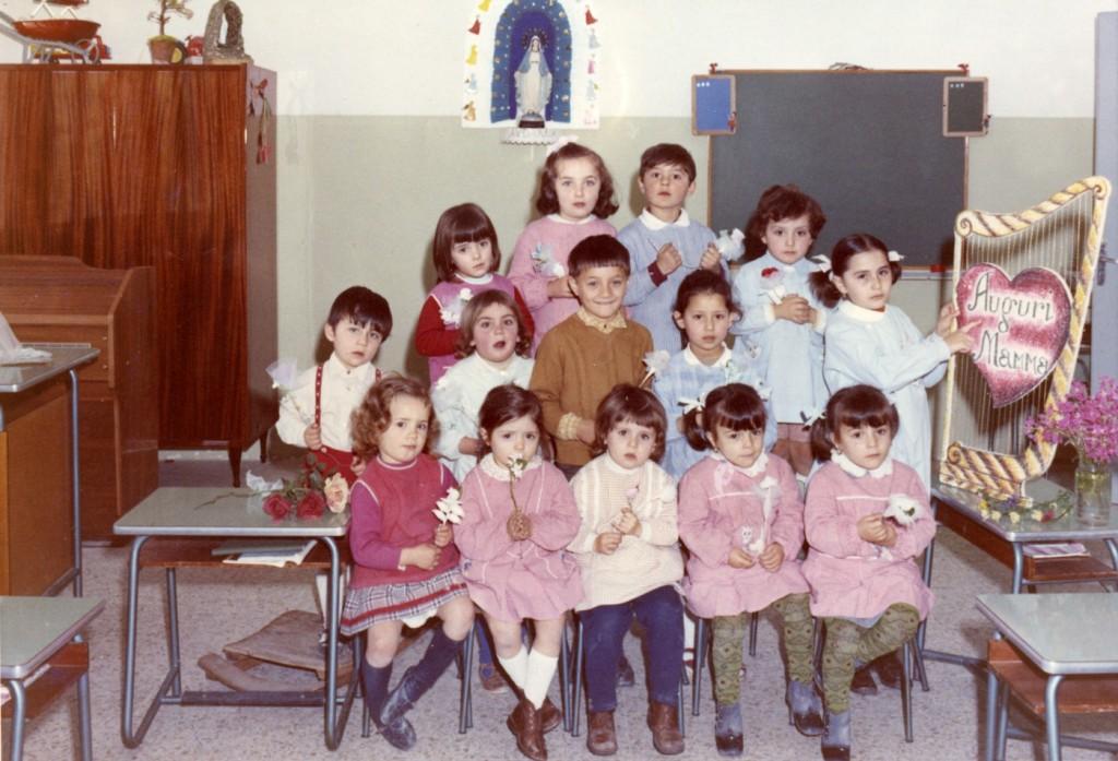 1970 - i bimbi dell'asilo di San Filippo