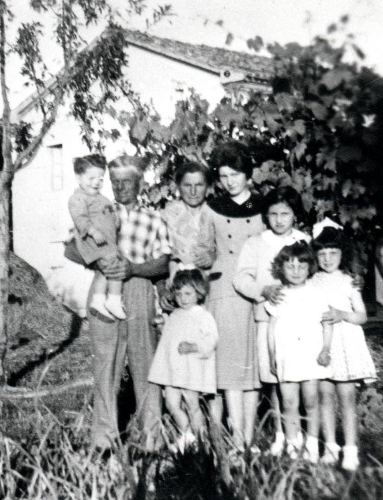 Anni '50 - La famiglia di Natale Gaudini