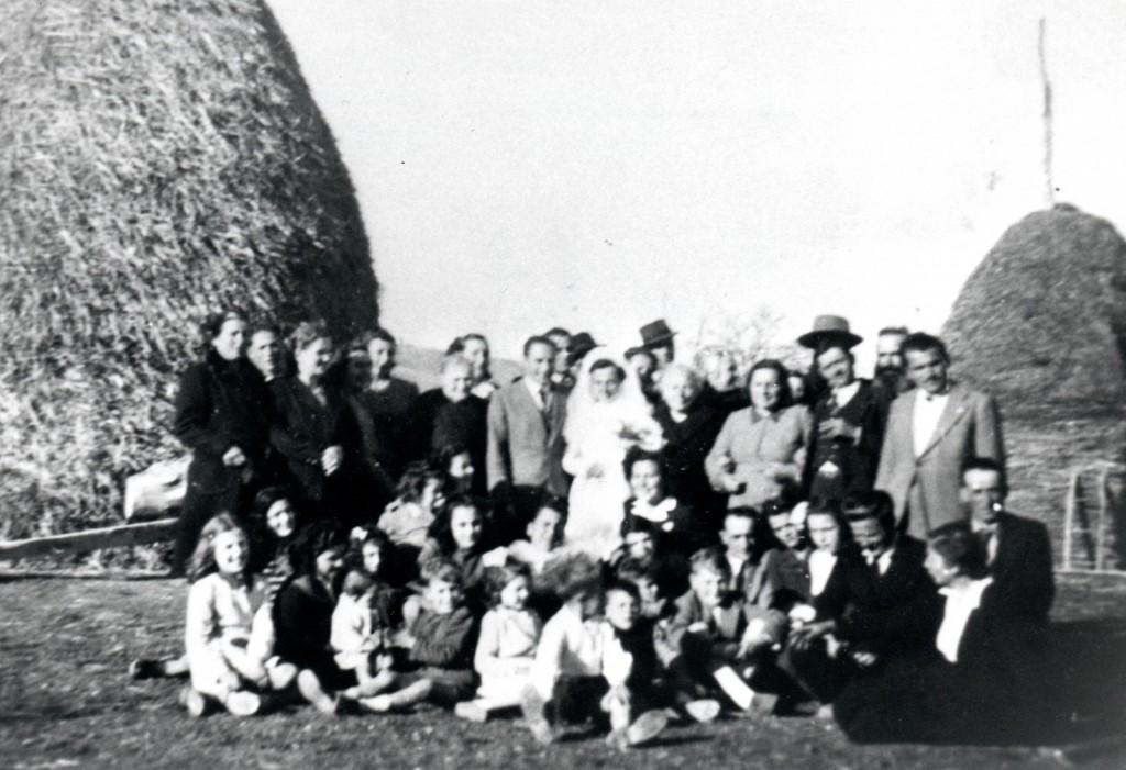 1948 - Matrimonio di Guerrino Guiducci e Pierina Betti