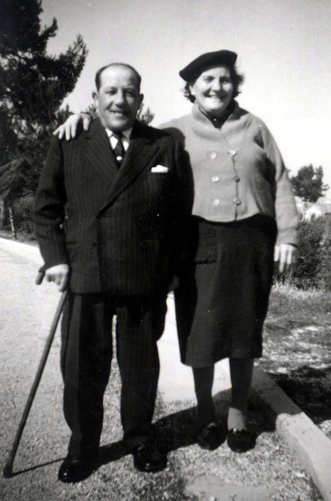 Isidoro Luzi e sua moglie Rosa Savelli