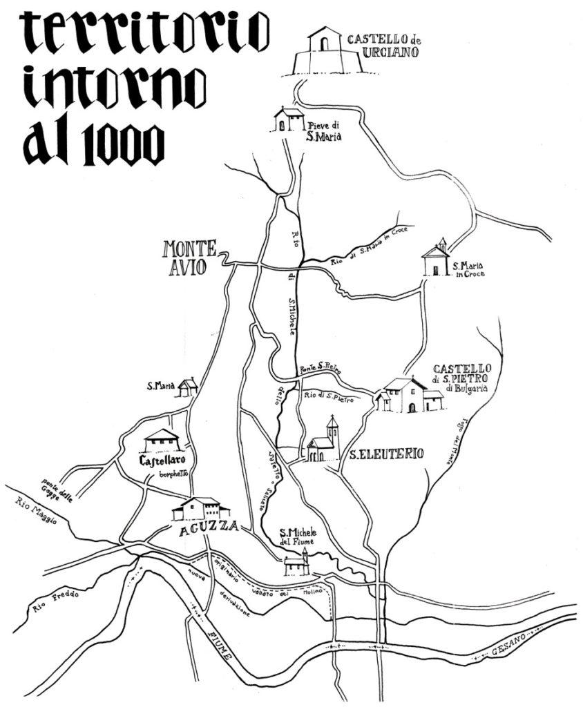 Territorio intorno al 1000
