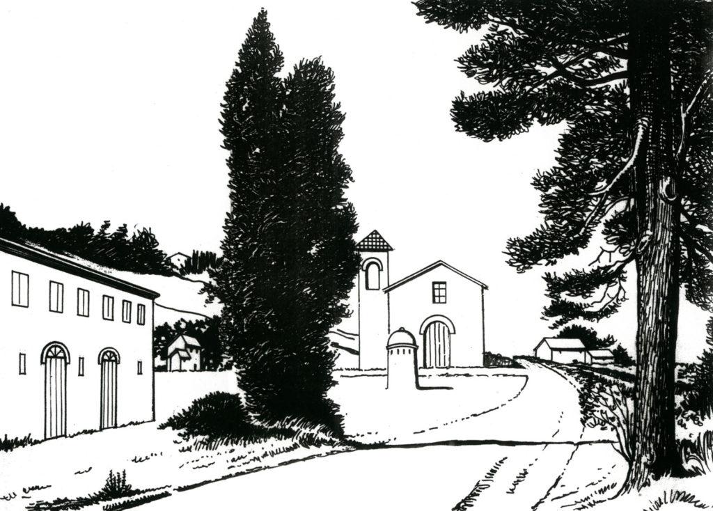San Michele al Fiume nell'800