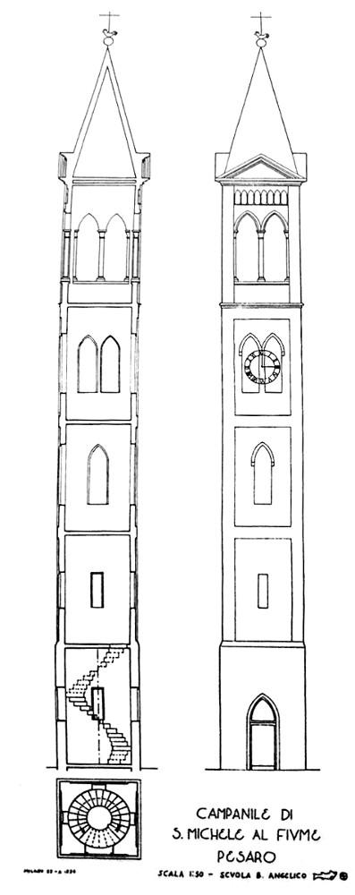 Progetto campanile per nuova chiesa
