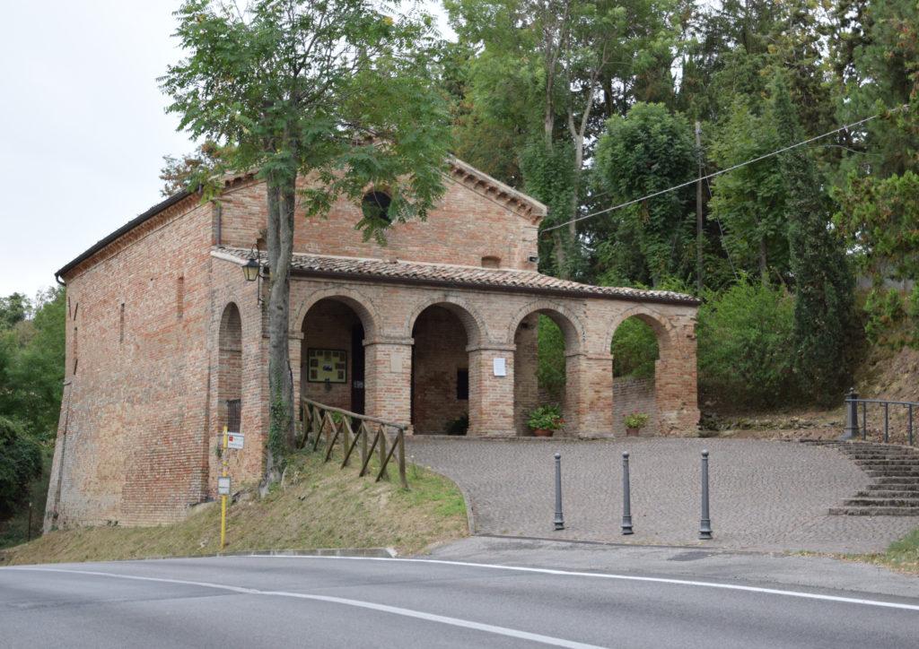 La chiesa di Santa Maria della Quercia oggi